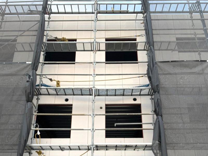 東千葉新営業所外壁