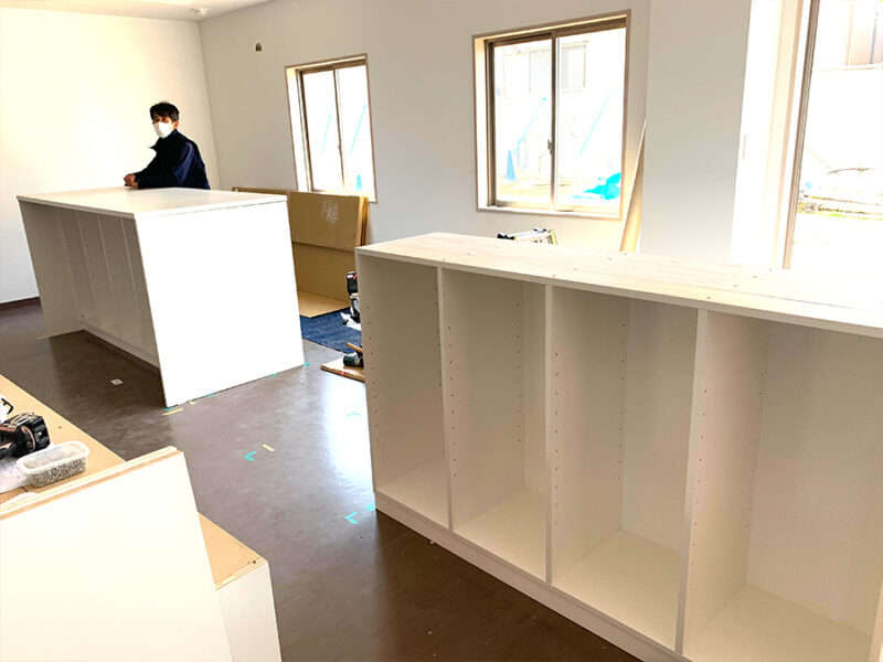 千葉CPB新築寮事務所スペース